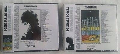 Bob Dylan Ten of Swords 8 CD Set BEAUTIFUL WITH BOOKLET