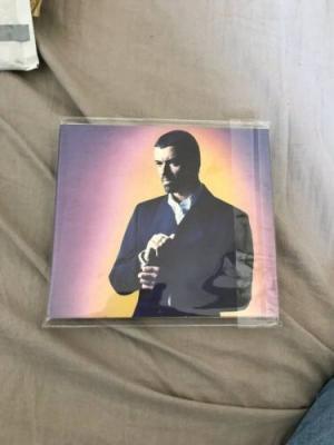 George Michael Signed Cd Promo