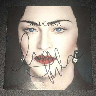 Madonna Madame X Signed CD 2019 Rise madona