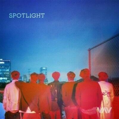 VAVSpotlight3rd Mini Album CDBookletPhotoCard KPOP Sealed Korean Boy Group