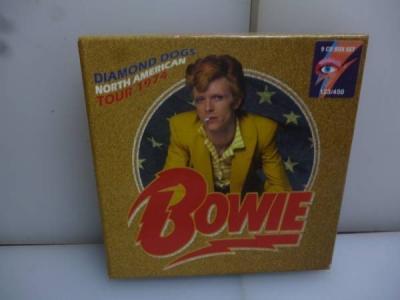 DAVID BOWIE DIAMOND DOGS NORTH AMERICAN TOUR 1974  9 CD BOXSET NEW SEALED