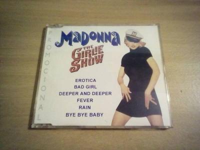 MADONNA  THE GIRLIE SHOW  BRAZIL 6 TRACK PROMO CD  CDP0893 ULTRA RARE  MADAME X