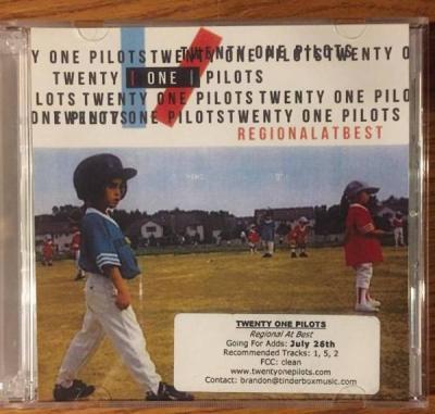 Twenty One Pilots Regional At Best Very Rare Promo 2 Cd
