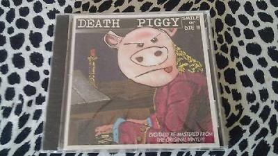 DEATH PIGGY CD SMILE OR DIE GWAR DAVE BROCKIE RARE SEALED KBD PUNK METAL MISFITS