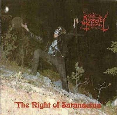 Azazel The Night of Satanachia CD goatmoon black metal