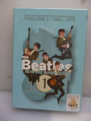BEATLESDO YOU WANT TO KNOW A SECRET VOL119627212CD3DVD BOXSETNEWSEALED