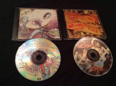 AC DC COLLECTOR PART CD SET DIRTY DEEDS DONE DIRT CHEAP TNT 1995 ALBERT AUSSIE