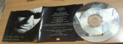 Vasco Rossi   L una per te  PROMO CD SINGOLO  Introvabile