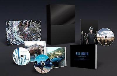 FINAL FANTASY XV Original Soundtrack Limited CD   2 Bluray Japan Square Enix