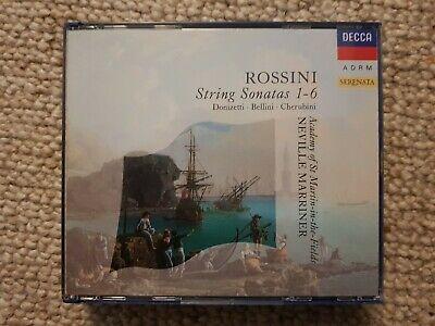 Rossini String Sonatas 1 6 Decca Germany PDO full silver no ifpi 1991 CD ASMIF