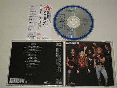 SCORPIONS VIRGIN KILLER BMG B20D 41012  JAPAN CD   OBI