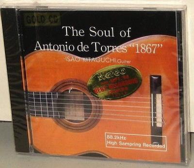 COSMO VILLAGE GOLD CD  Isao Kitaguchi   Soul of Antonio de Torres 1867   OOP SS