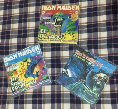 Iron Maiden El Dorado   The Final Frontier   Coming Home promo CD single EMI