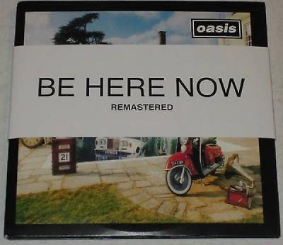 Oasis  Be Here Now  2016 Remastered 3 CD UK PROMO  Strip NEW  UNPLAYED