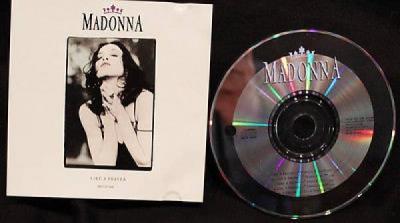 Madonna Like A Prayer 5 Versions Vintage RARE 1989 DJ CD Single PRO CD 3448 Art