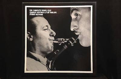 Charlie Ventura Flip Phillips Complete Verve Clef Studio Sessions Mosaic 182 6CD
