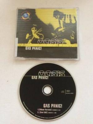 Oasis   Gas Panic    Rare Brazil Promo CD