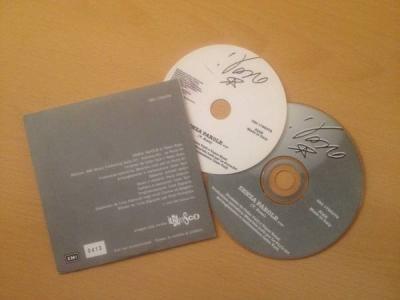 VASCO ROSSI   Senza Parole cd singolo promo raro cartonato originale numerato