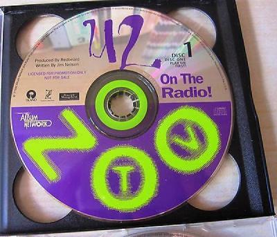 U2 Zoo TV On The Radio US Promo 2 CD