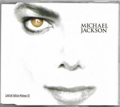 RARE Michael Jackson On The Line Minimax CD Made In Australia 1997