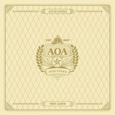 AOAAngels Knock 1st Album A Ver CDBookletSelfie PhotoCardPostGift KPOP