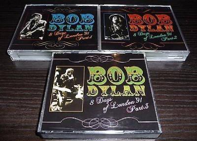BOB DYLAN VERY RARE 16 CD SET 1991 8 DAYS OF LONDON PART 1 2  3