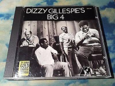 Dizzy Gillespie s Big 4 Analogue Productions 24K Gold CD CAPJ 024