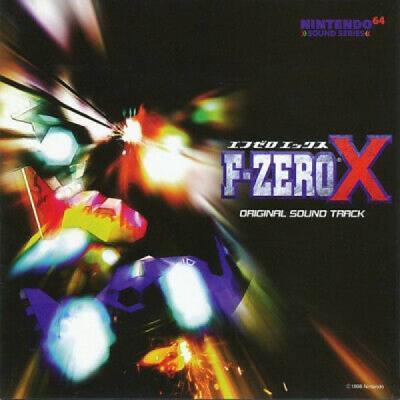 TARO BANDO F Zero X Original Sound Track JAPAN CD PCCG 00459 1998 OBI