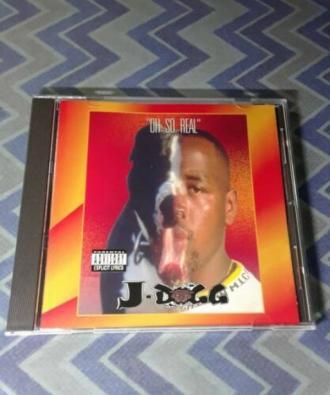 J Dogg Oh So Real cd 1995 super rare e z s d lil jazz skip dog lil ric bay area