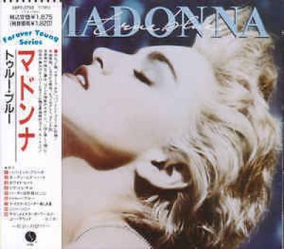 MADONNA True Blue 18P2 2702 CD JAPAN NEW