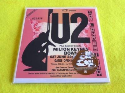 U2   THE LONGEST DAY   RARE 2 CD JAPAN IMPORT