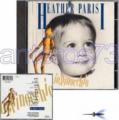 HEATHER PARISI  IO  PINOCCHIO  RARO CD   PINO DANIELE