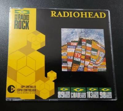 Radiohead Hail To The Thief Promo CD EP Single   on a friday kid a shindig creep