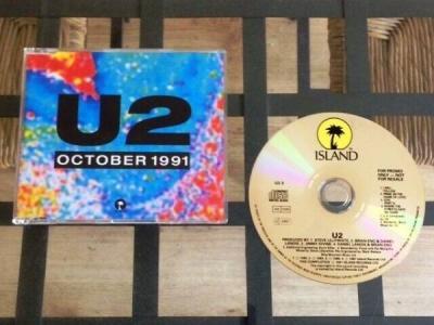 U2  October 1991   Mega Rare Ltd Ed UK Promo CD   Only 250 Pressed   Cat  U2 3