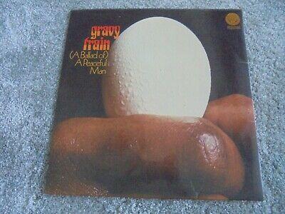 Gravy Train    Ballad Of  A Peaceful Man 1971 UK LP VERTIGO 1st EX PROG PSYCH