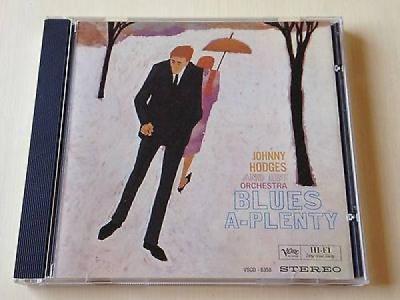 JOHNNY HODGES BLUES A PLENTY AUDIOPHILE CLASSIC COMPACT 24K GOLD CD NOT MFSL DCC