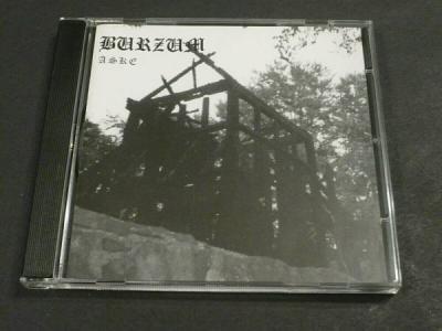 1BURZUM  ASKE CD 3 TRACK DEATHLIKE SILENCE PRODUCTIONS ANTI MOSH 005