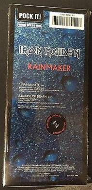 IRON MAIDEN   RAINMAKER   CD MINI LONGBOX 3 Inch 21x9 5   SEALED MINT