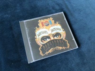 Michael Jackson Promo CD Brazil Brasil Dangerous Pepsi Cover Rarest   Not Smile