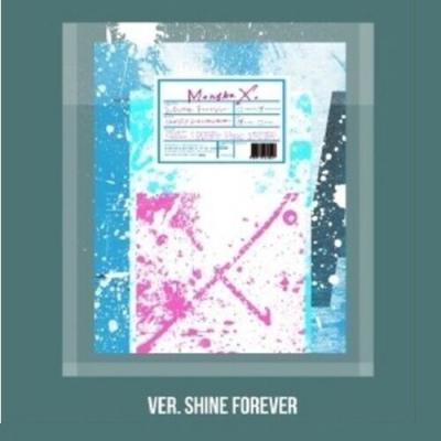 Monsta X  Shine Forever Shine Forever Ver CDPosterOnBookCardStickerGift