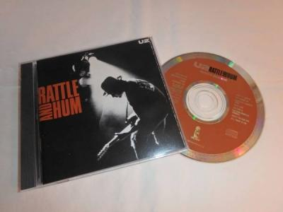 U2 Rattle and Hum RARE 1988 Brown Label CD