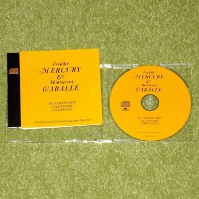 QUEEN   FREDDIE MERCURY The Golden Boy   ULTRA RARE 1988 UK PROMO CD SINGLE