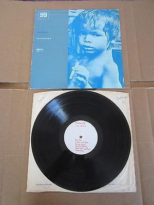 THE WHO   JIMI HENDRIX Backtrack 3 LP RARE ORIGINAL UK WHITE LABEL TEST PRESSING