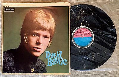 DAVID BOWIE  David Bowie  Deram  TEST PRESSING STEREO in slick sleeve UK LP