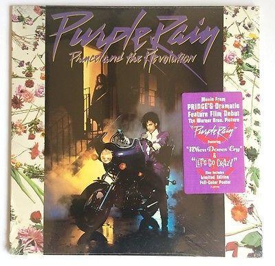 PRINCE AND THE REVOLUTION Purple Rain LP SEALED MINT 1984 Record Vinyl Rare