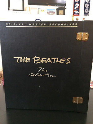 THE BEATLES Original Master Recordings The Collection 14 LP Black Box Set MINT
