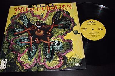 MESSENGERS INCORPORATED Soulful Proclamation LP Mega Rare Original Soul Funk