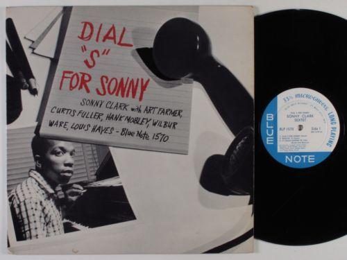 SONNY CLARK WITH ART FARMER        Dial  S  for Sonny BLUE NOTE LP mono W  63rd