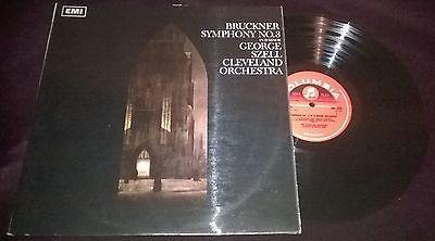 GEORGE SZELL Cleveland Orchestra Bruckner Symphony No 3 LP Columbia SAX 5294 M