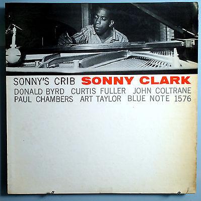 SONNY CLARK w JOHN COLTRANE SONNY S CRIB INSANELY RARE ORIG 57 BLUE NOTE MONO LP